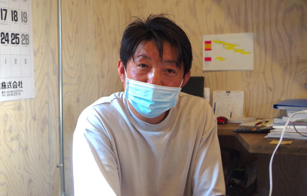 Ag-工務店代表の渡部栄次さん