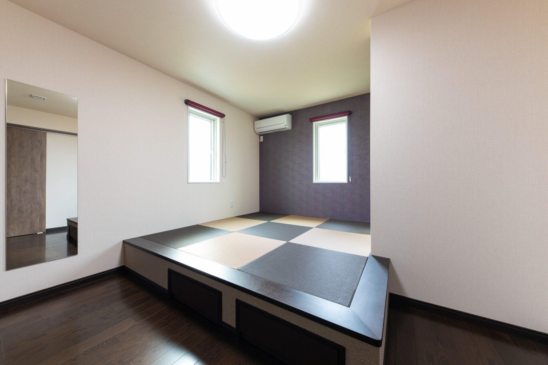 ボルダリングウォールが特徴的なモダン住宅(クレバリーホーム新潟 (株)又助組)