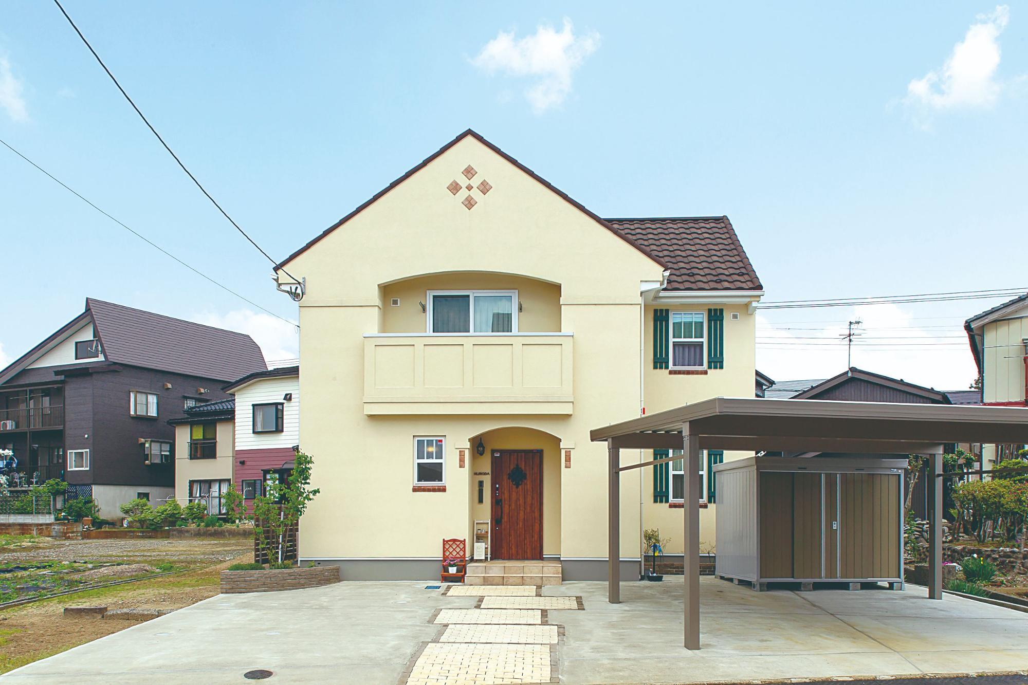 ナチュラルなカフェ風の家(株式会社エクセレントホーム:インターデコハウス新潟)