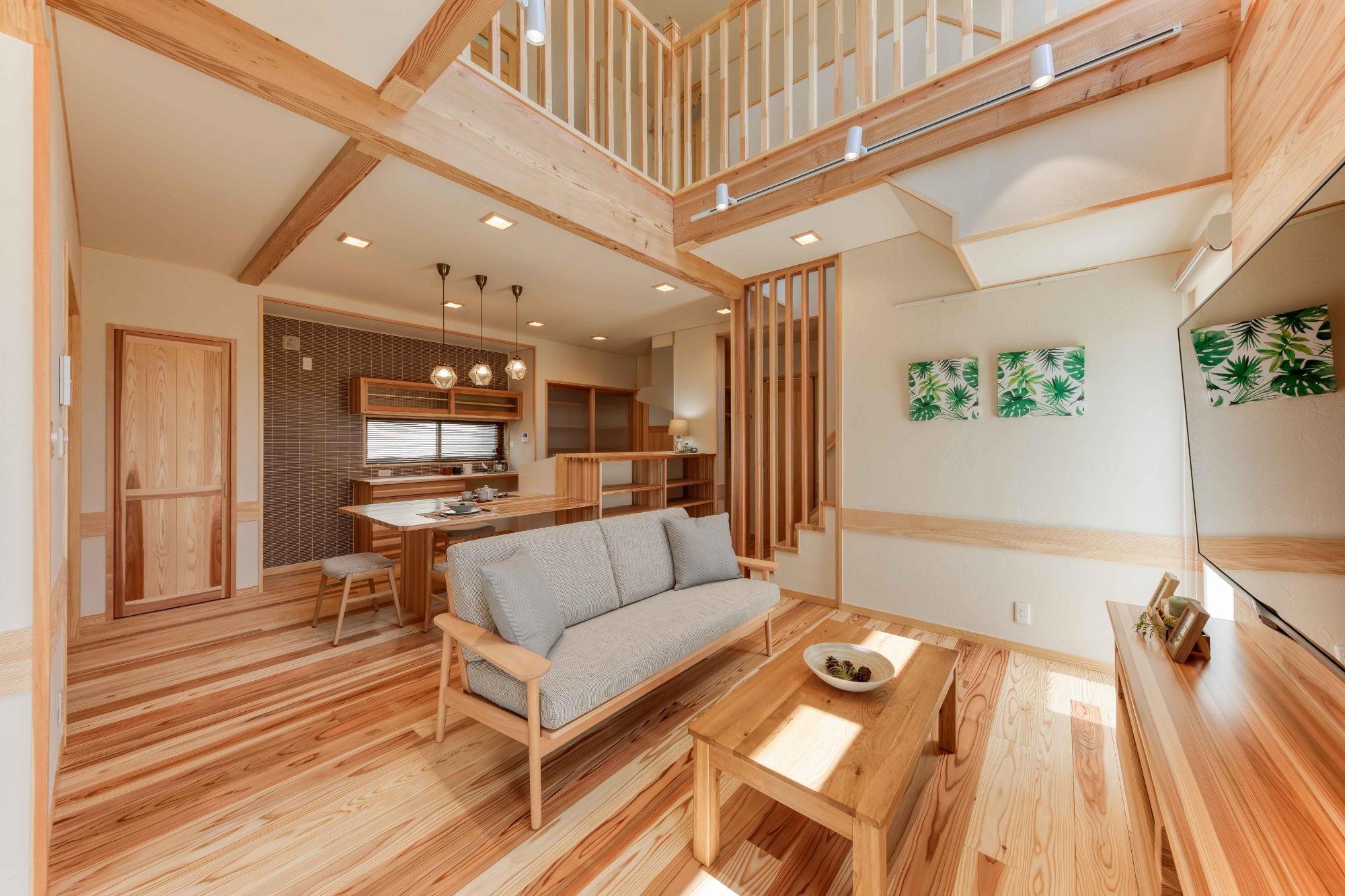 家族が元気に暮らせる省エネの家(自然派ライフ住宅設計㈱)
